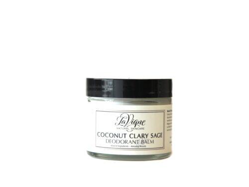 Coconut Clary Sage Deodorant Balm