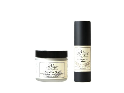 Intensive Eye Créme and Plump and Firm Peptide Cream